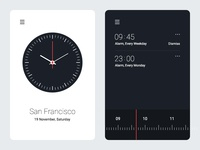 Alarm Clock UI Experiment