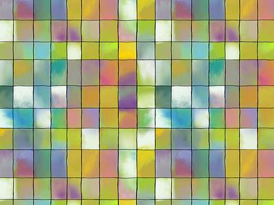 cuadritos cuadros abstracto estampado