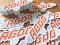 AGDG Stickers