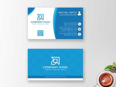 Creative Business Card - Unique Business Card graphic design name card design identity creative logo creative design creative business card corporate design stationary modern professional card photoshop professional business card outstanding namecard design card design business card design business card