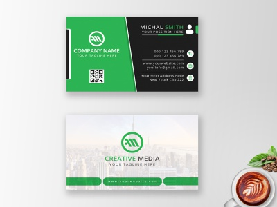 Corporate Business Card - Professional Business Card business card mockup business card template corporate identity corporate business card design corporate business card identity graphic design corporate design stationary business card design professional card professional business card photoshop outstanding namecard design card design business card