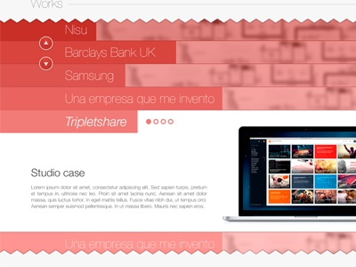 Works gallery ui web gallery red work clients