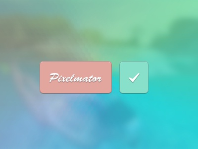 Playing with Pixelmator pixelmator button colour gradient