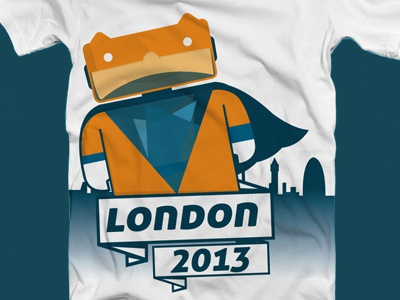 Superhero london superhero t-shirt