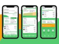 Personal finance app banking money budget finance app app design ui