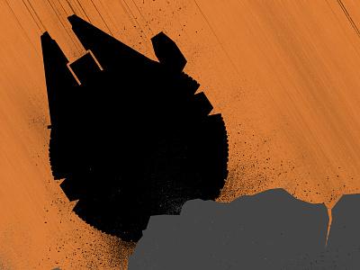 Chewie, we're home illustration star wars