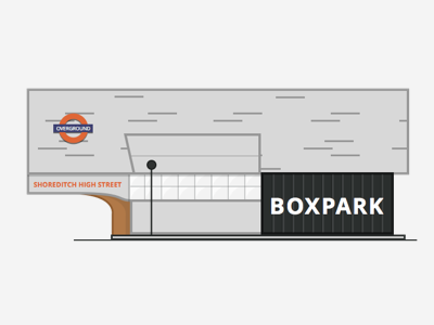 Shoreditch/Boxpark London