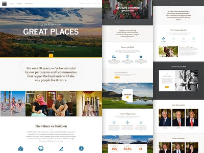 DMB Inc. Responsive Website web design website marketing ui ux corporate responsive real estate