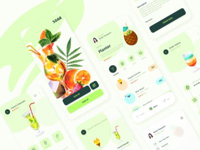 Soar - a drink order app concept