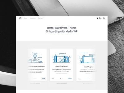 Better WordPress Theme Onboarding