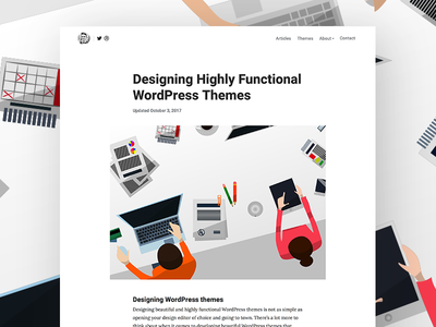 Designing Highly Functional WordPress Themes