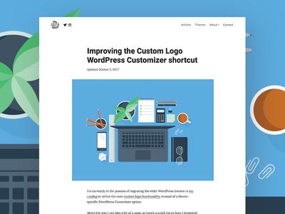 Improving the Custom Logo WordPress Customizer shortcut