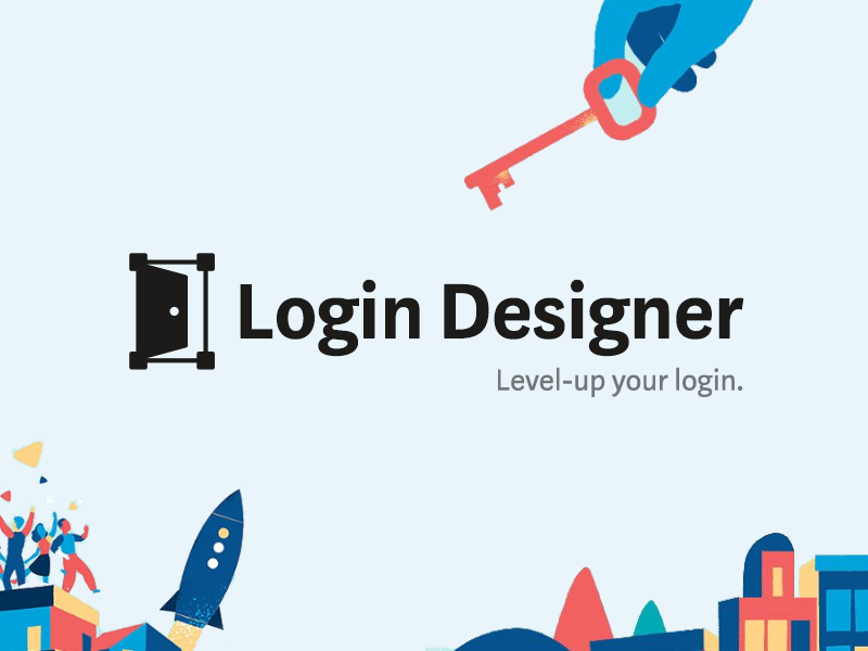 Login designer dribbble