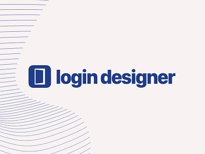 Login Designer rebrand website design relaunch website brand design logo brand
