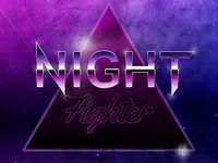 80s Poster - Night Fighter