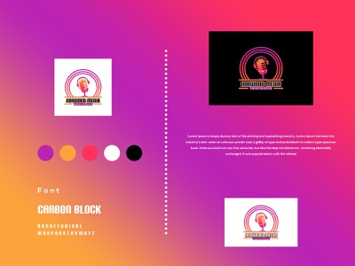 Norwood Media - Podcast - Music - Logo Design blogger radio station youtube spotify podcasts sound cloud podcasting podcast music lover motivation repost show itunes hiphop entertainment vector illustration graphic design flat design creative branding 3d