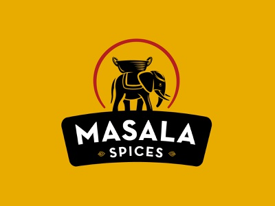 MASALA SPICES spices illustration branding packaging design logo design logotype logo greece