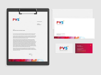 PVS // corporate identity identity design envelope cards letterhead corporate identity corporate branding logotype logo athens greece