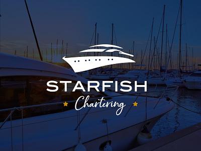 STARFISH Chartering brand identity brand design brand charter design logo design logotype logo greece