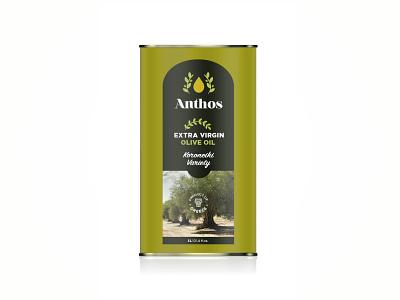 ANTHOS Extra Virgin Olive Oil brand identity olive oil extra virgin olive oil olive oil packaging branding greece