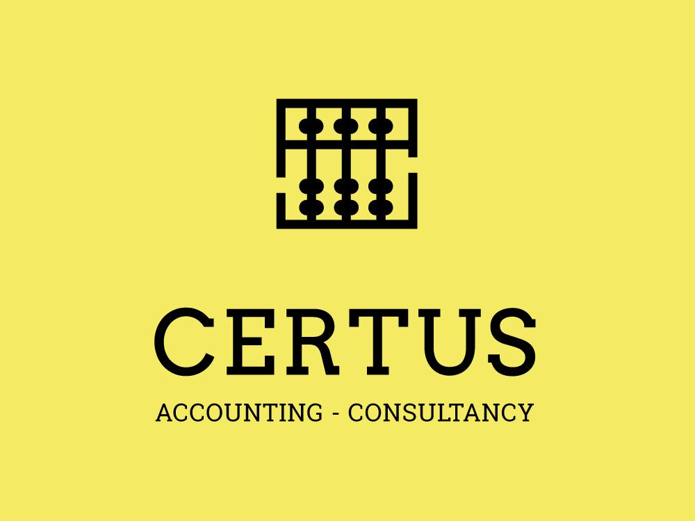 Certus branding web design packaging cyprus greece consultancy accounting logo design logotype logo