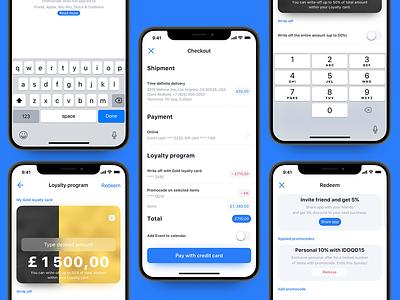 Luxury e-commerce iOS UI kit – Set 5 cart shop buy apple iphone ecommerce ecom luxury infectedcell uikit ios app