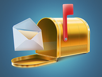 Mail Notification icon