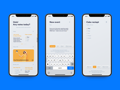 TODO app. A bit of neu morphism concept. infectedcell neumorphism neu morphism feed list ux ui ui-kit to-do to do toto app