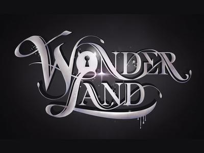 """Logo for illustration and design studio """"WONDERLAND"""""""
