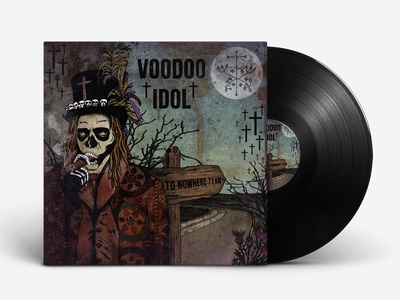 "illustration for the band ""VOODOO IDOL"""