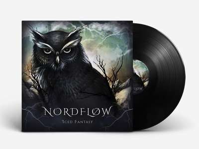 "illustration on the cover of the group ""NORDFLOW"""