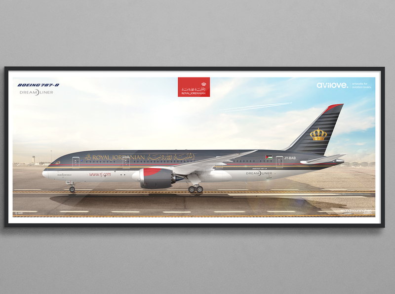 B-787 | Royal Jordanian Airlines | JY-BAB