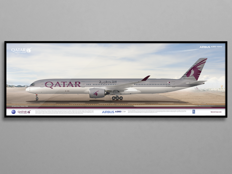 A350 | Qatar Airways | A7-ALA