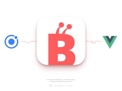 Beep App Icon open source mobile apple mark logo beep bee app ios icon github