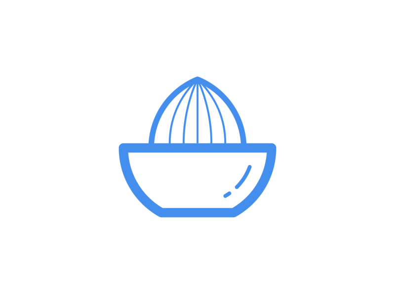 Squeezer Logo Mark identity juice citrus software microservice blockchain developement tech crypto branding brand mark logo squeezer