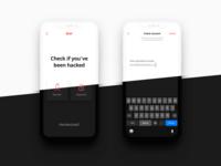 Beep App Dark Mode UI Design