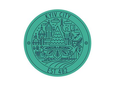 Weekly Warm-Up: Kyiv Sticker
