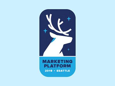 Caribou CMS sticker illustration