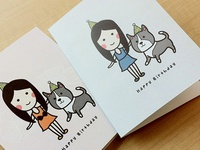 Cards for Fabienne