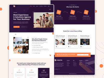 Business Agency UI download psd proffessional agency landing page agency website landing page website clean ui blue and white homepage design homepage website design web design creative design landing page design landingpage uiux webdesign ui design uidesign ui  ux