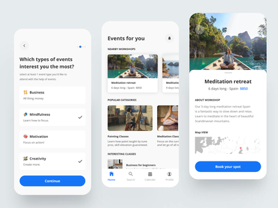 Daily Activity App Screens google maps ios app design clean ui classic uidesign ui app ui uiux ui design ui  ux app design creative travel app mobile design mobile app design mobile app mobile ui activity feed dailyui online app