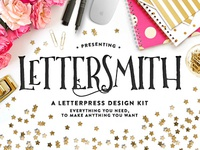 Lettersmith • A letterpress Design Kit