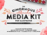 The Watercolor Media Kit