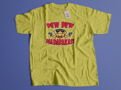 Pew pew t-shirt-design typography illustration vector tshirt design tshirt ui branding logo graphic design