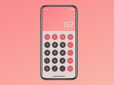 Daily UI Challenge 004 Calculator dailyui004 dailyui calculator figma design ui