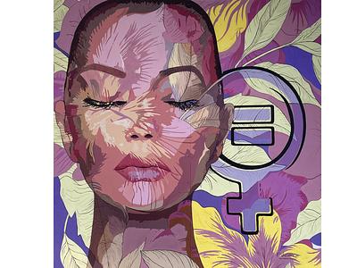 SJ Feminism muralist muralart murals mural