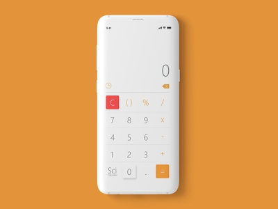 Calculator Mobile App UI Design Concept design uxdesigner branding userinterfacedesign uiuxdesigner uiux design adobexd uiuxdesign adobephotoshop ux uiux ui