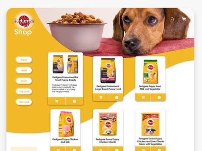 Pedigree Website Hompage UI Design ui ui  ux dailyui userinterfacedesign uiuxdesigner uiux design adobephotoshop uiuxdesign uiux adobexd