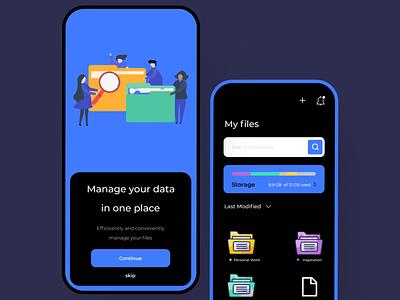 File manager file manager file illustration design minimal branding ui app