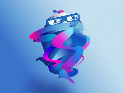 Tangled in Stress design adobe illustrator cc stress vector illustration illustrator